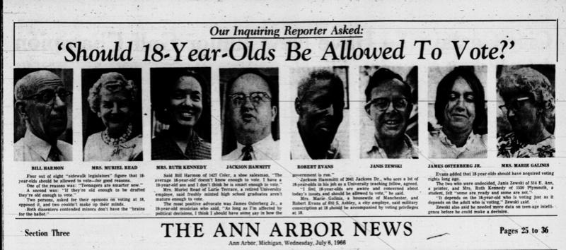 The Ann Arbor News 1966 Should13