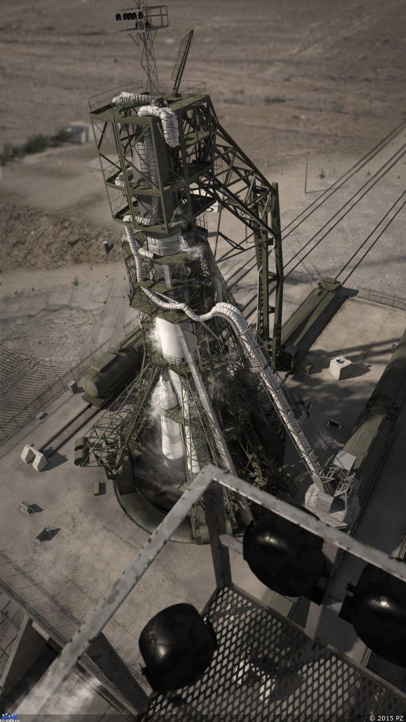 La fin du pas de tir Gagarine 811