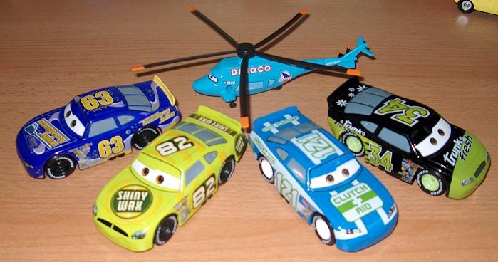 Mes petites Cars ! by nascar_vd 2710