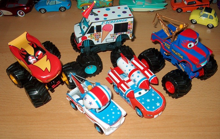Mes petites Cars ! by nascar_vd 2810