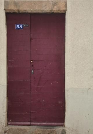 Fil à la porte. G_mars12