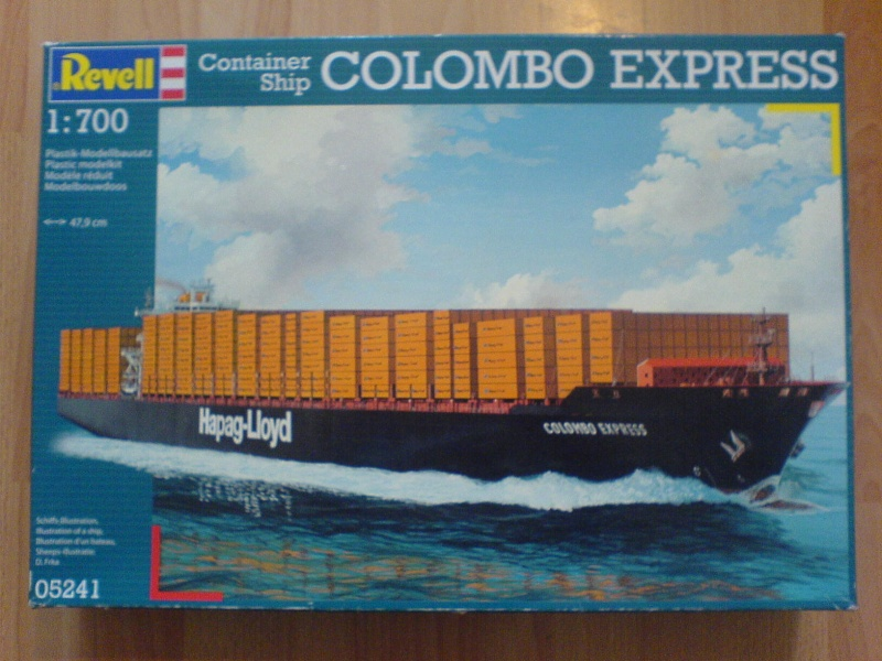 Colombo Express von Revell 1/700, RC 00511