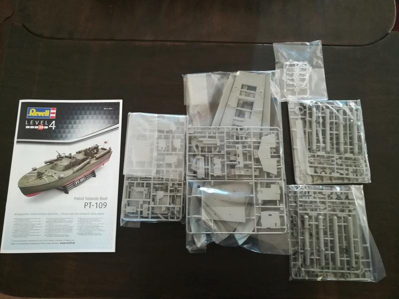 Patrol Torpedo Boat PT 109 von Revell in 1/72 Neue Form!!! Img_2011