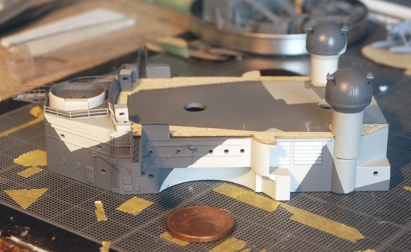 Tirpitz Tamiya 1/350 - Page 4 Essais10