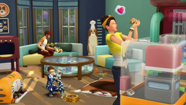 Stuff Pack That //Requires// Compliments Cats & Dogs - Available Now on Origin Ts4-sp10