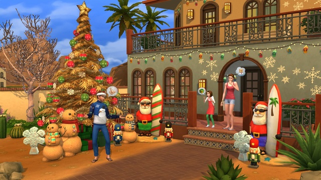 12 Days if Simsmas hosted by EA_Mage Ts4_ho10