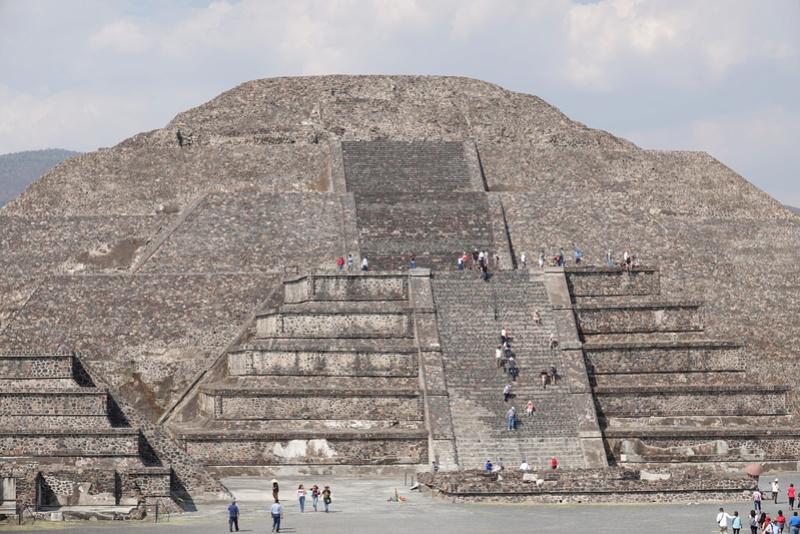 TEOTIHUACAN et ses pyramides Dsc00137