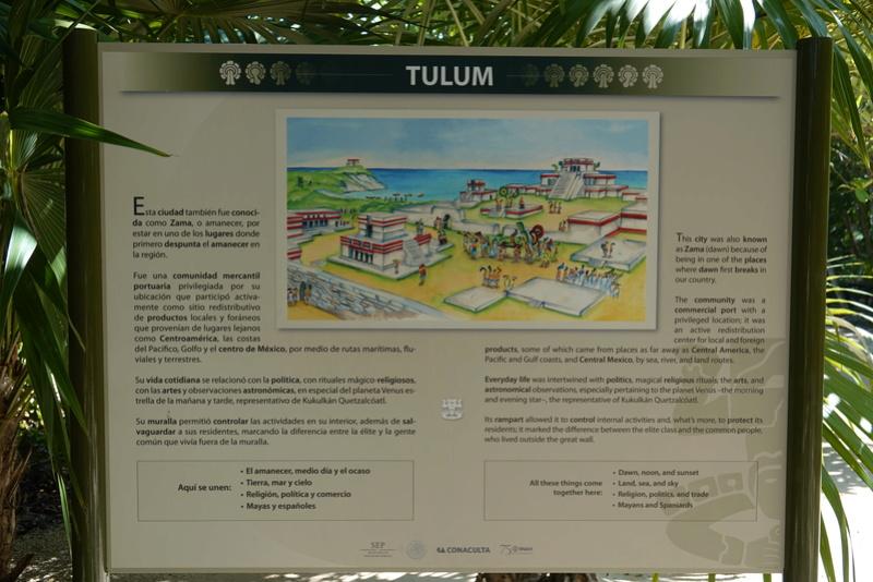 LES RUINES DE TULUM Dsc00818
