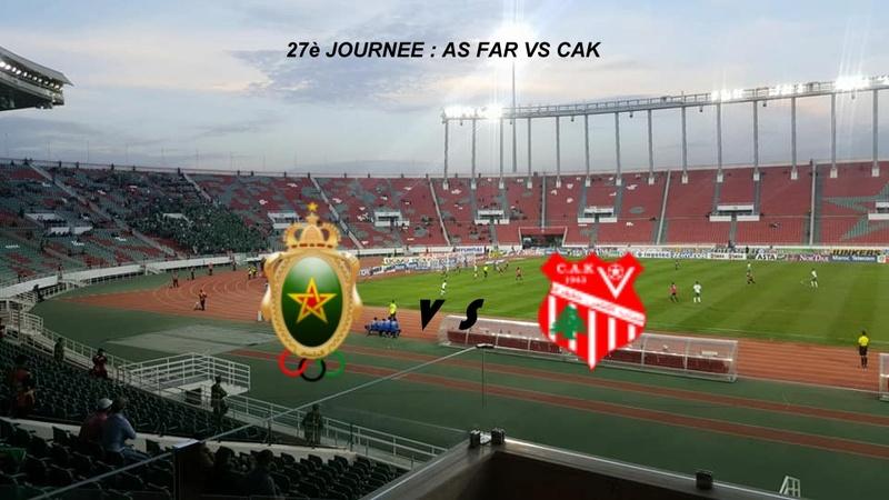 As Far Rabat 1-2 Cak Khenifra [ 27 eme Journée ]  24129614