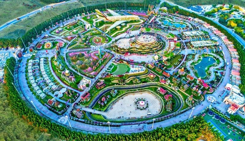 Dubaï Miracle Garden Www10