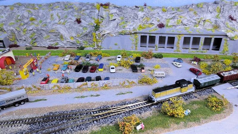 """Mon nouveau réseau ferroviaire échelle """"N"""" maj 16/02/2018 - Page 5 Img_3427"""