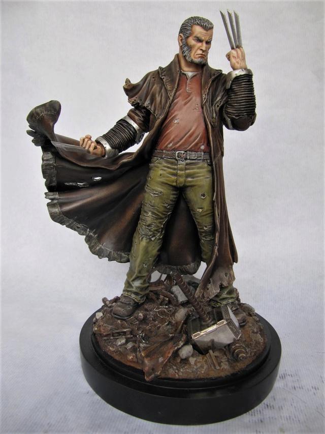 repaint statue weta sideshow bowen . - Page 9 Logan10