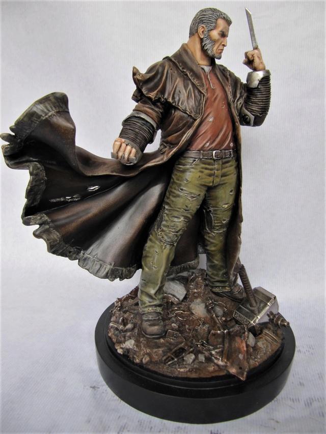 repaint statue weta sideshow bowen . - Page 9 Logan111