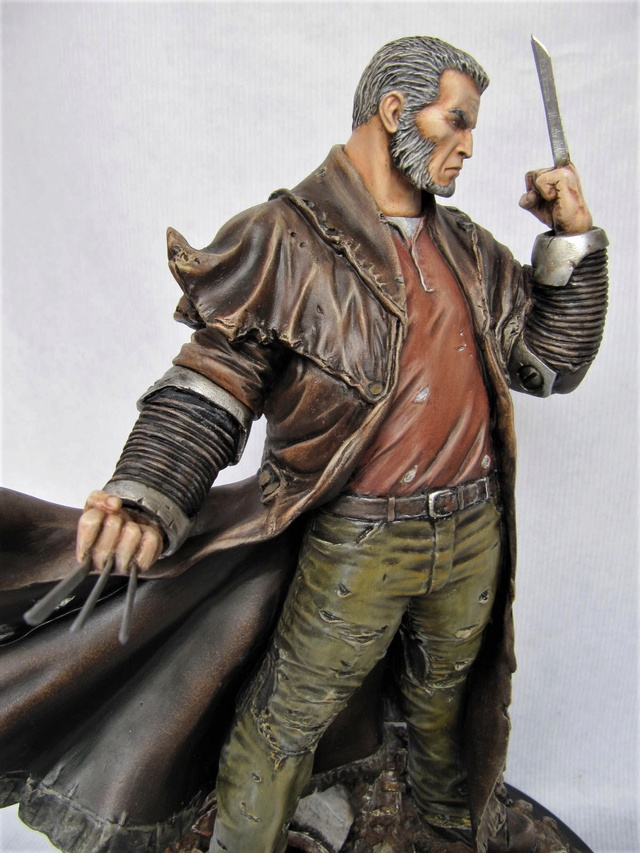 repaint statue weta sideshow bowen . - Page 9 Logan112
