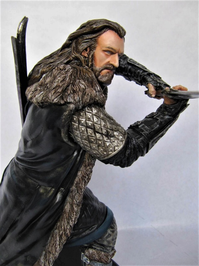 repaint statue weta sideshow bowen . - Page 9 Thorin15
