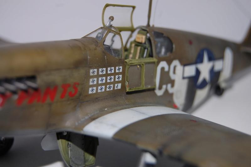P-51 B Tamiya monture du Lt Wilson K.Beker 359 Th FG Dsc_3237