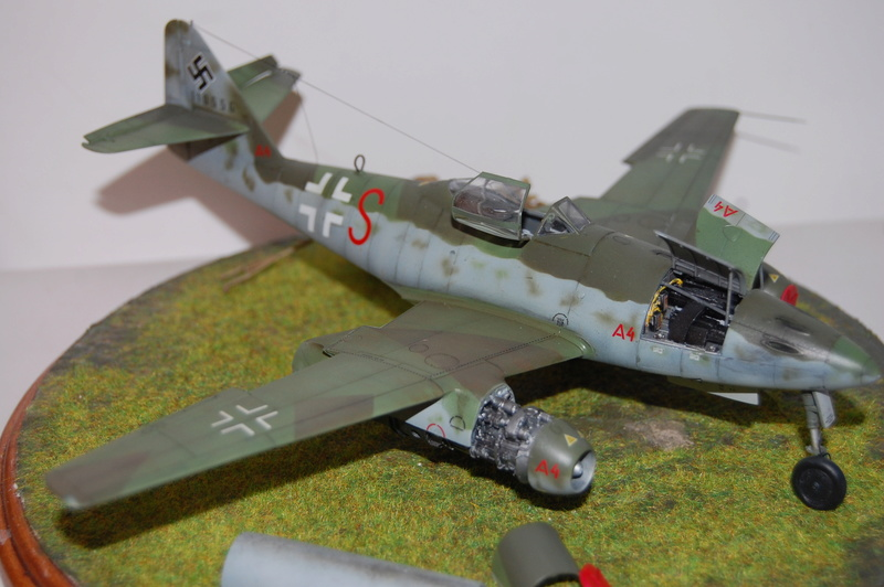 Me 262 Maquette Tamiya 1/48. Dsc_8710