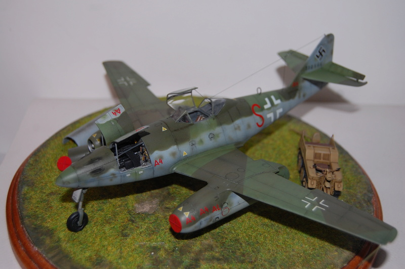 Me 262 Maquette Tamiya 1/48. Dsc_8712