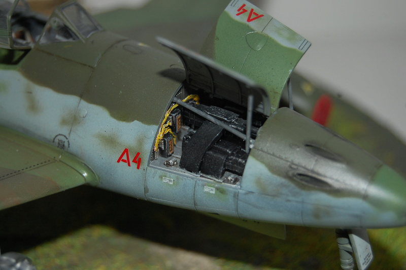 Me 262 Maquette Tamiya 1/48. Dsc_8713