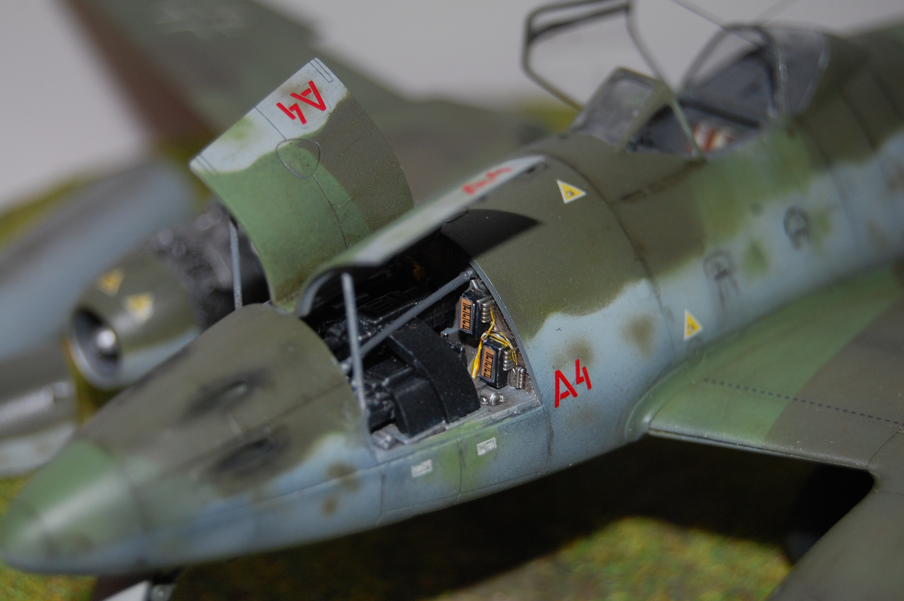 Me 262 Maquette Tamiya 1/48. Dsc_8717