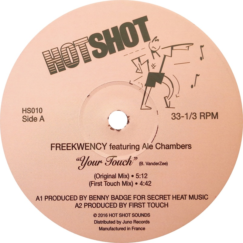 Freekwency Feat. Ale Chambers - Your Touch  2016  Hot Shot Sounds Freekw10