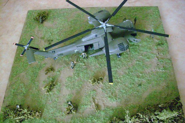 diorama - Diorama CH-37 Mojave Dsci0048