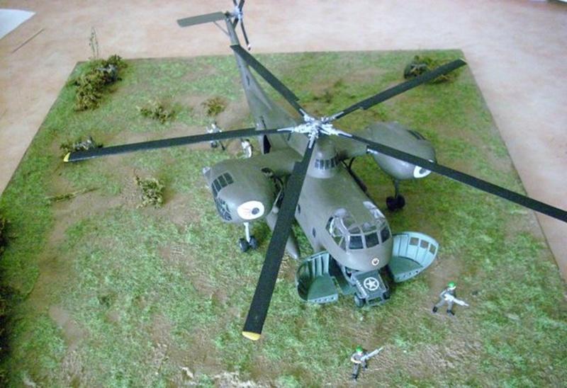 diorama - Diorama CH-37 Mojave Dsci0053