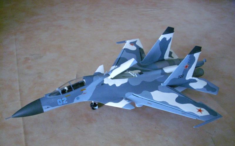 diorama - Diorama Su-30  Su_3011