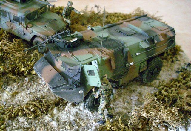 diorama - Diorama VAB et Hummer  Vab11