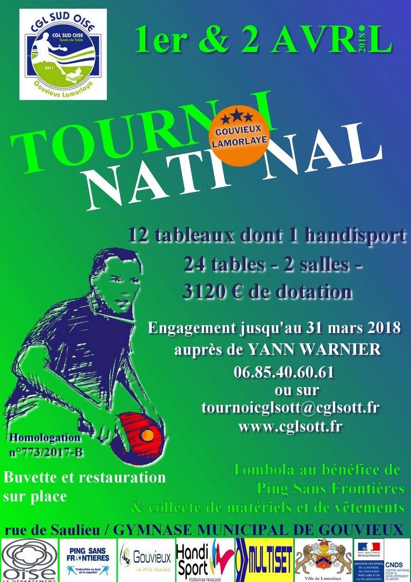 TOURNOI NATIONAL B Gouvieux-Lamorlaye le 1er et 2 avril 2018 Affich12