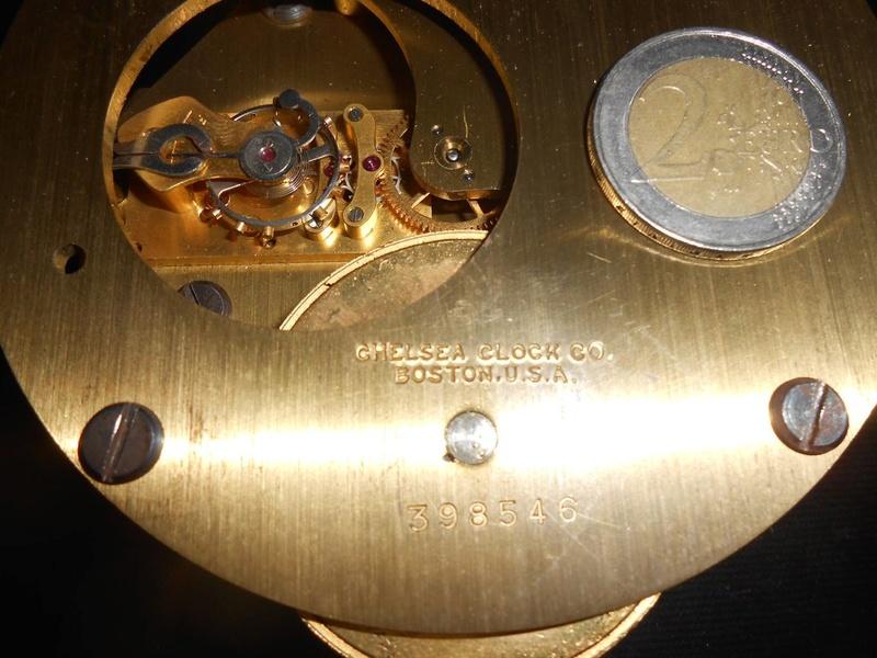CHELSEA U.S.NAVY SHIPS CLOCK; mais de quel navire...?? Dscn3210