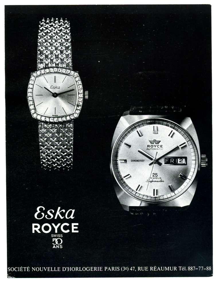 Montre Roll Royce automatique Eska_r10