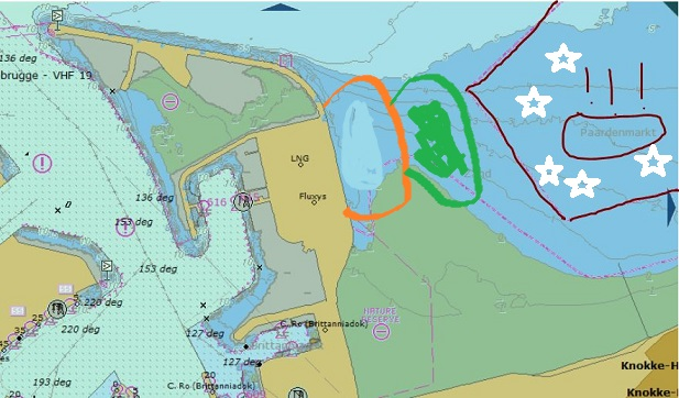 Une expansion du port de Zeebruges dans la mer !? Paarde11