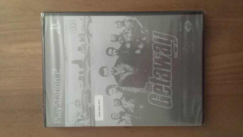 The Getaway PS2 limited edition jeu très rare 1000 copies 15254610