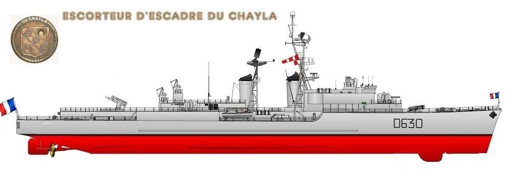 Les Escorteurs d'escadre, origines et refontes Du_cha13