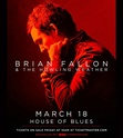 Brian Fallon & The Howling Weather EUROPE tour 2018 Bfus10