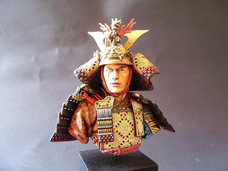 archer samouraï juste un buste 100_0210