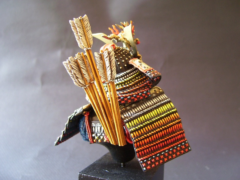 archer samouraï juste un buste 100_0213