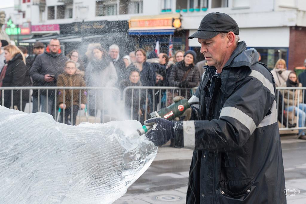 Sculpture sur glace Calais  _dsc7319