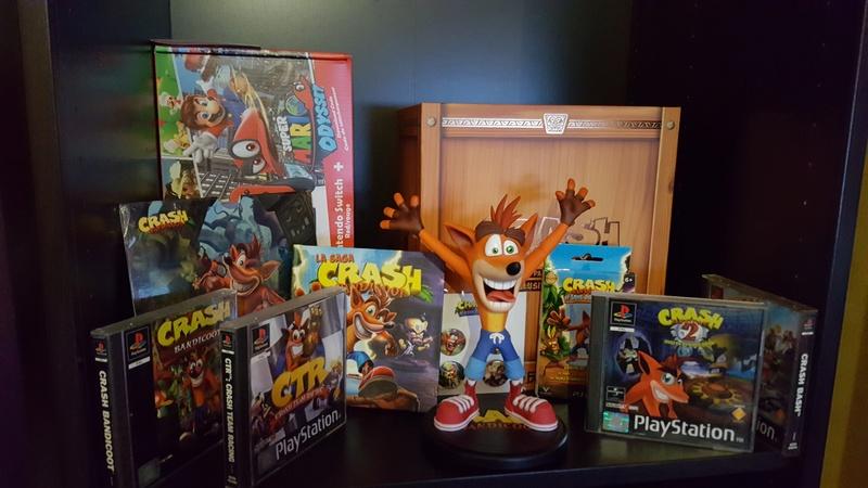 Collection n°233 :yan67(Partie 4) news statues, consoles, lego p10 : 10/01/2021 Crash211