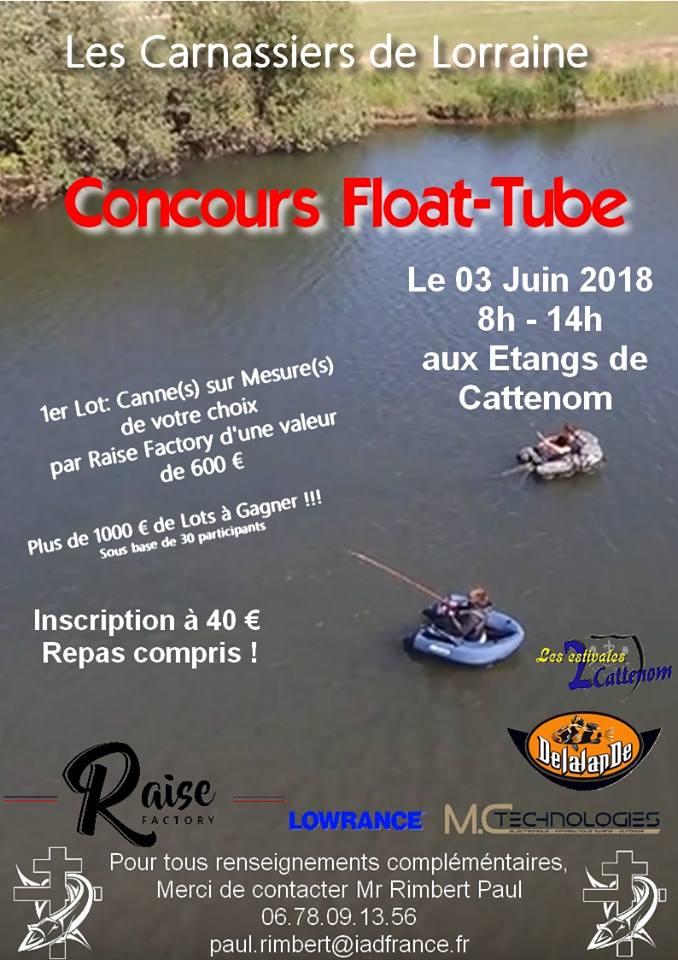 Concours Float Tube 2018 des Carnassiers de Lorraine 29542310