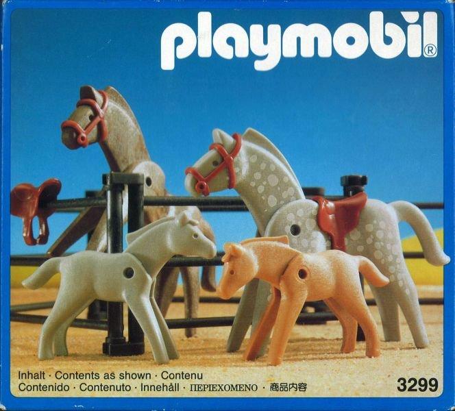 [Playmobil] Chevaux et poulains - Trouvé 329910