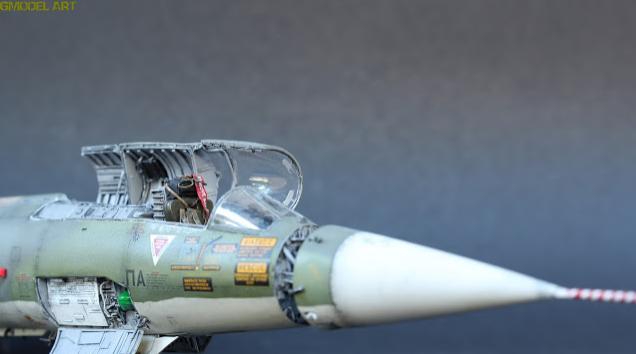 F 104 G Starfighter par  Fotis MATSAGOURAS Captu116
