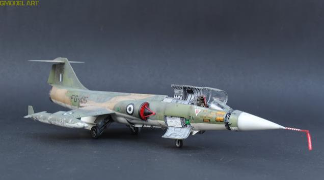 F 104 G Starfighter par  Fotis MATSAGOURAS Captu117