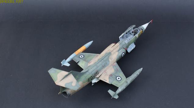 F 104 G Starfighter par  Fotis MATSAGOURAS Captu118