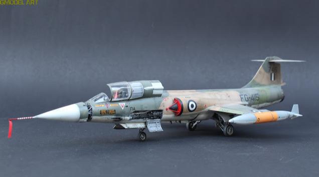 F 104 G Starfighter par  Fotis MATSAGOURAS Captu119