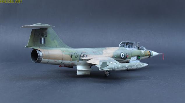 F 104 G Starfighter par  Fotis MATSAGOURAS Captu120