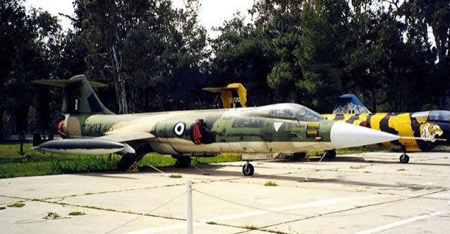 F 104 G Starfighter par  Fotis MATSAGOURAS Captu234