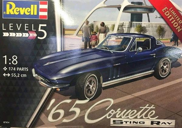 Revell: Chevrolet Corvette 1963 C2 Stingray de chez REVELL Captu482