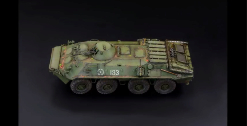 BTR 70 - 1/72 Trumpeter - Armored Fighting Vehicle Captur68